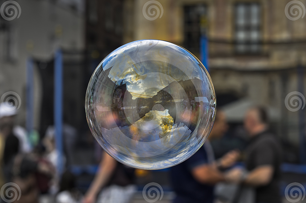 Soap bubble picture